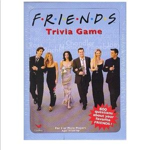NEW Friends TV Show Trivia Game by Cardinal